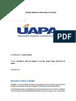 Resumen sobre el plagio y la Ley No. 65-00 sobre Derecho de Autor