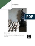 Jubilee Action Report - Rwanda
