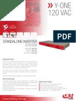 CET Power - Y-ONE 120Vac datasheet v1.1