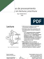 Sistemas de procesamiento modular en lectura y escritura