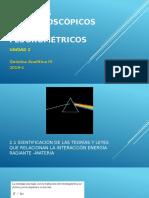Unidad 2. Métodos Espectroscópicos uv-vis