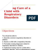Care of a Child with  Respiratory.ppt