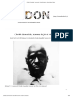 Cheikh Hamallah, Homme de Foi Et Résistant – Association Kodon