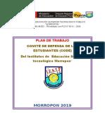 Plan de CODE 2019