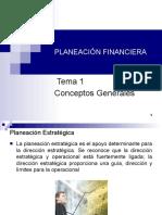 planeacion financiera - conceptos generales