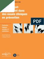 [OLLIVIER-YANIV, C. ; COUDERC, M.] Recrutement-engagement dans des essais cliniques en prévention. Contextes, logiques sociales et médiations