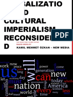 Globalization and Cultural Imperialism Reconsidered