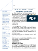GRIETAS Y FISURAS EN MUROS DE MAMPOSTERIA