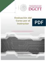 Evaluacion del Curso por el Instructor