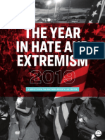 The Year in Hate and Extremism 2019