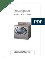 Report on Washing Machine