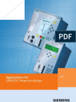 Siemens - Applications for SIPROTEC Protection Relays