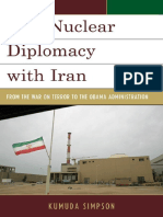 (Weapons of Mass Destruction) Kumuda Simpson - U.S. Nuclear Diplomacy with Iran_ From the War on Terror to the Obama Administration-Rowman & Littlefield (2015).pdf