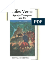 Jules Verne - Agentia Thompson and Co