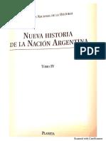 Nueva Historia de la Argentina, tomo IV, Cap 1