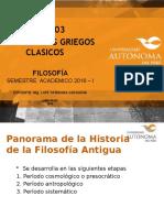 LOS FILOSOFOS GRIEGOS CLASICOS (1)