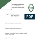 Informe sobre gestion integral del riesgo de desastres naturales en Honduras
