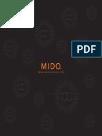 MIDO Watch Catalogue 2018-2019