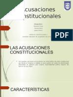 Acusaciones Constitucionales (1)