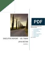 Executive Report Ud. Tiban Jaya Rotan