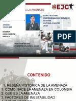 EXPOSICIÓN LOS ORIGENES DE LA AMENAZA CT. ACOSTA ROMERO MARITZA.pptx