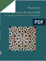 Rumi El Masnavi Vol I en espanol version de Maria Corbi Quinonero