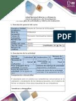 Guía de actividades y rúbrica de evaluación - Fase 1 - Reconocer los conceptos básicos de las unidades 1 y 2