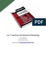 Las 7 Mentiras del Network Marketing