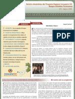 Boletín electrónico del Proyecto Regional Araucaria XXI.Misiones.Argentina