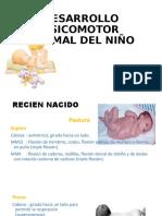 DESARROLLO PSICOMOTOR NORMAL DEL NIÑO.pptx