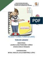CLAVE NEXOS Y CONECTORES -TERCER GRADO-