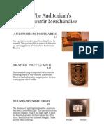 Merchandise Information & Order Form