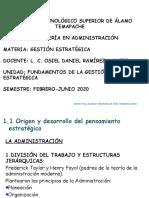 Tema 1. Fundamentos de la gestion estrategica