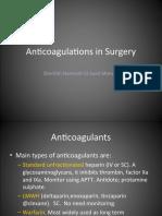 Anti Coagulation