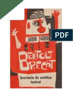 Brecht Bertolt - Breviario De Estetica Teatral.doc