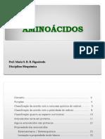 QUÍMICA DE AMINOÁCIDOS  PEPTÍDEOS - Geral 2019