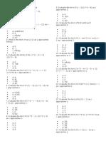 Engineering Mathematics MCQs (PinoyBix)