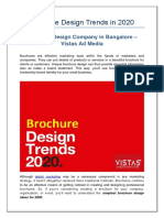 Brochure Design Trends for 2020