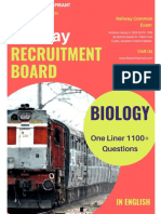 one-liner-Biology-English