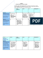 Intervention Planning Matrix Sample