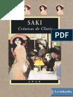 Cronicas de Clovis - Saki.pdf