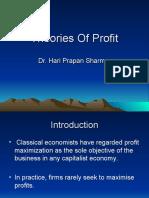 Profit Theory