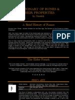 Dictionary of Runes