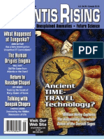 Ancient Lost Civilizations Atlantis Rising Magazine No 48 Ancient Time Travel Technology