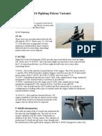 F16 variants