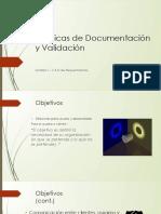 Técnicas de Documentación y Validación Unidad 1 - V&D en Requerimientos.pptx