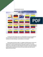 Evolución Histórica de la Bandera Nacional de Venezuela