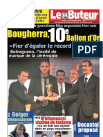 LE BUTEUR PDF du 14/12/2010