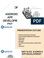 Top Android App Development Company   AppSquadz