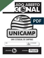 Simulado Aberto Nacional - UNICAMP